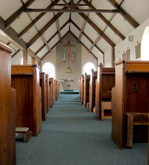 Inside Holy Cross Church, Yelverton