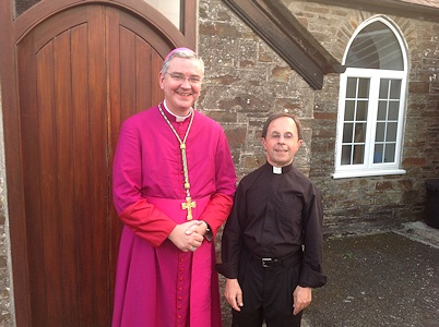 Bishop Mark and Fr Louis