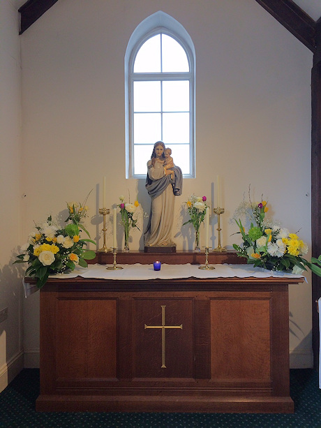 The Lady Chapel, Holy Cross Catholic Church
